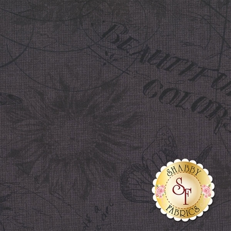 Follow The Sun 86432-999 Toile Black by Lisa Audit for Wilmington Prints