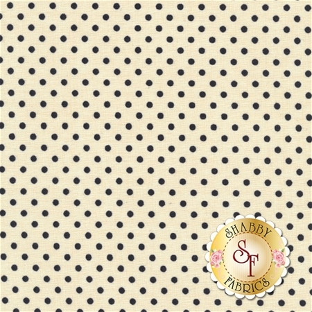 Follow The Sun 86434-119 Dot Cream by Lisa Audit for Wilmington Prints