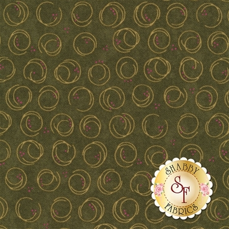 Forever Green 6695-15 Pine by Holly Taylor for Moda Fabrics