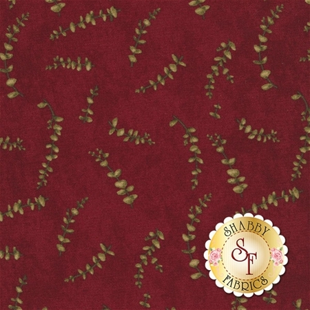 Forever Green 6697-17 Cardinal by Holly Taylor for Moda Fabrics
