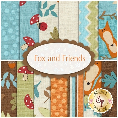 Fox And Friends  13 FQ Set by Northcott Fabrics