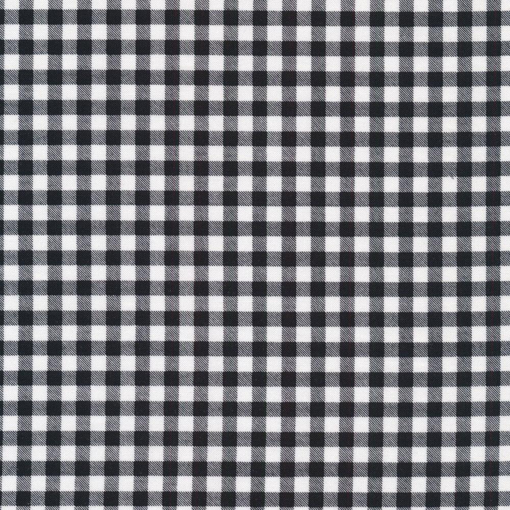 Black and white gingham   Shabby Fabrics