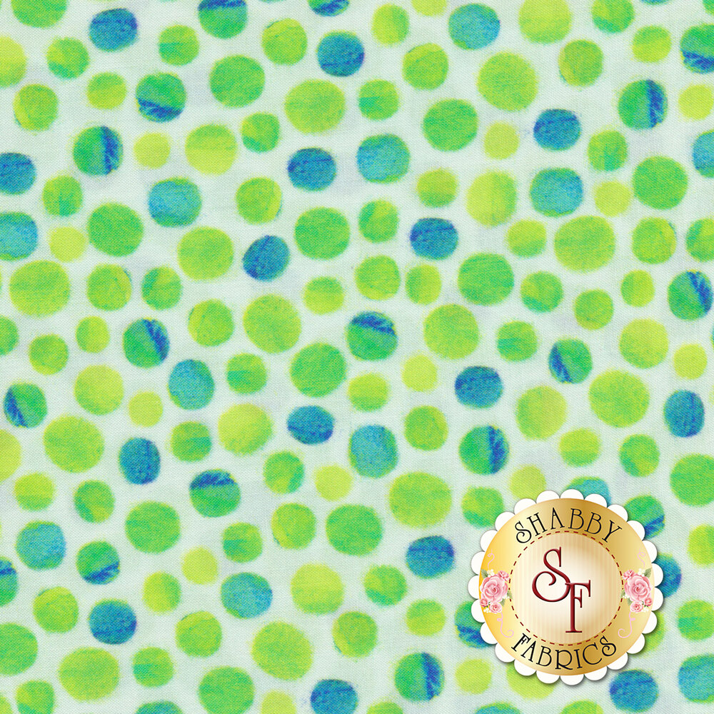 Full Bloom 27177-H Lime by Quilting Treasures Fabrics available at Shabby Fabrics