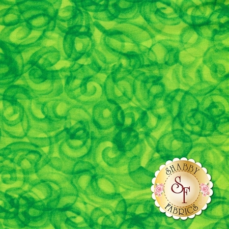 Fusion Illusion 4368-Lime by Blank Quilting Corporation