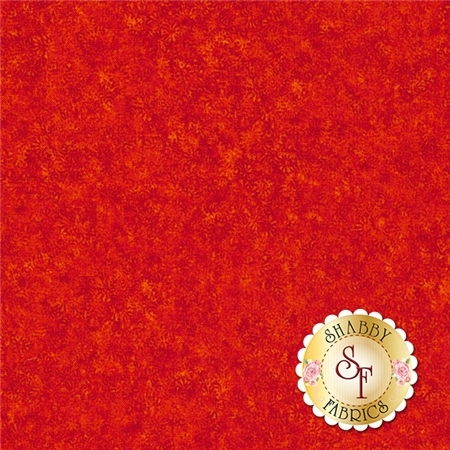 Fusions Meadow SRK-14445-101 Flame by Robert Kaufman Fabrics