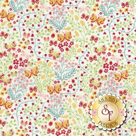 Garden Delights II 3GSF-1 by In The Beginning Fabrics REM