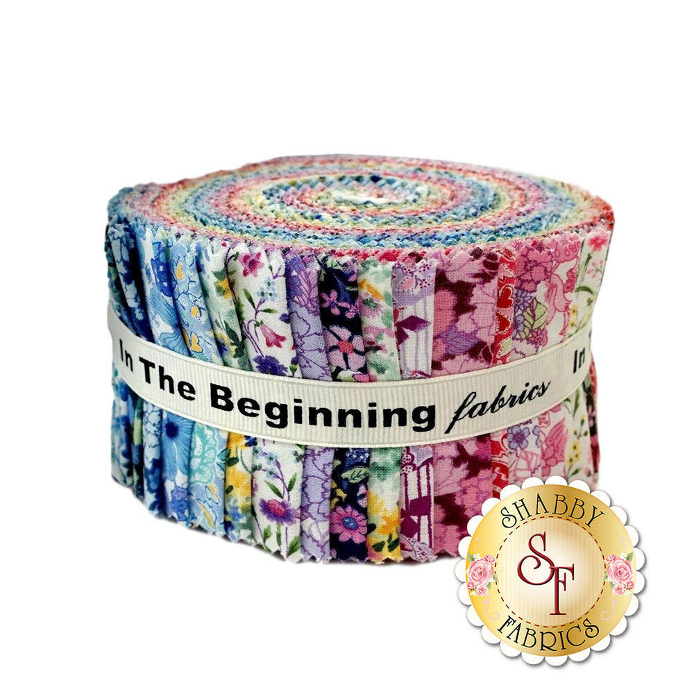 """Garden Delights II  2-1/2"""" Strips by In The Beginning Fabrics now available"""