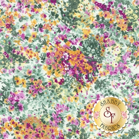 Garden Delights 3GSE-4 by Gray Sky Studio for In The Beginning Fabrics REM
