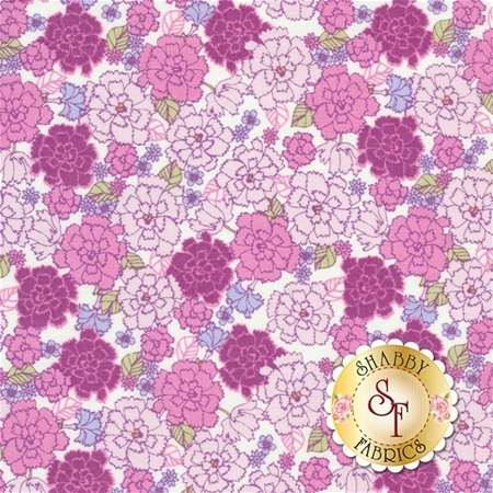 Garden Delights 4GSE-7 by In The Beginning Fabrics- REM