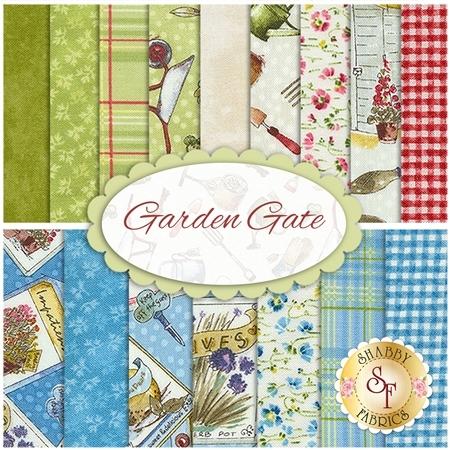 Garden Gate  16 FQ Set by Northcott Fabrics