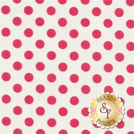 Garden Girl C5665-RASPBERRY by Riley Blake Designs- REM