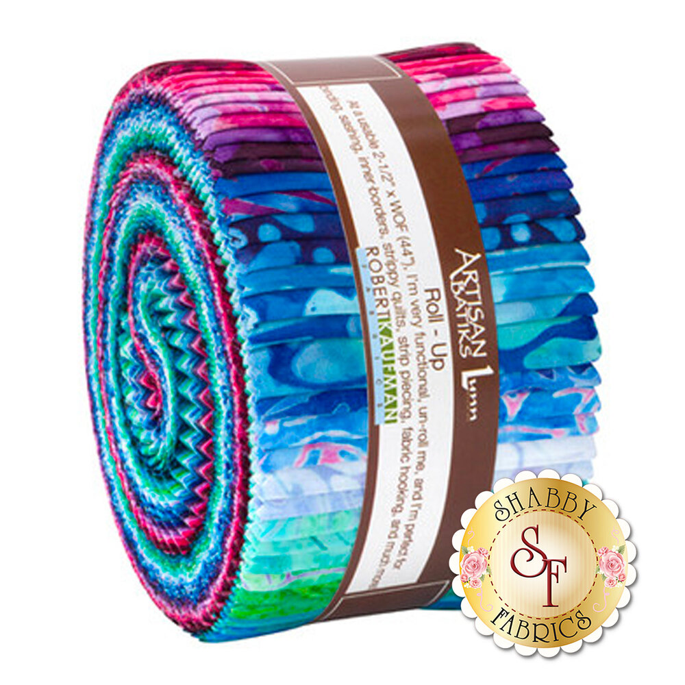 The Artisan Batiks: Garden Style Roll Up pack | Shabby Fabrics