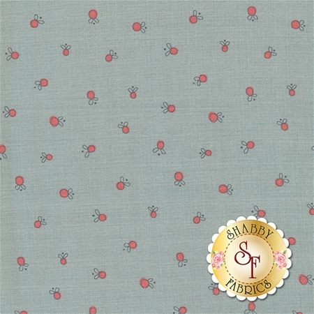 Garden Whimsy 8676-17 by Anni Downs for Henry Glass Fabrics