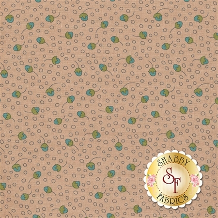 Garden Whimsy 8677-22 by Anni Downs for Henry Glass Fabrics- REM