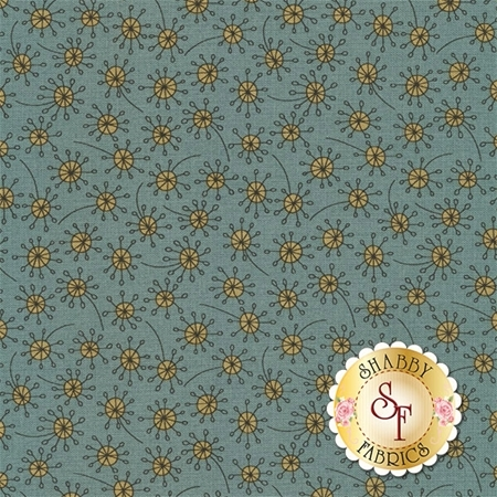 Garden Whimsy 8678-17 by Anni Downs for Henry Glass Fabrics