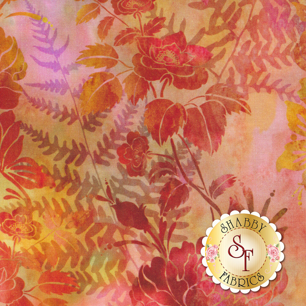 Garden of Dreams 1JYL-1 by In The Beginning Fabrics available at Shabby Fabrics