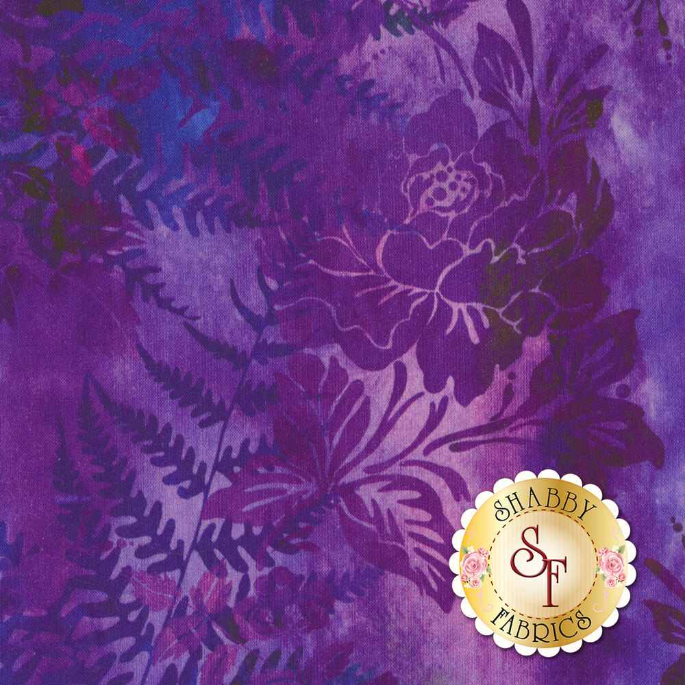 Garden of Dreams 1JYL-4 by In The Beginning Fabrics available at Shabby Fabrics