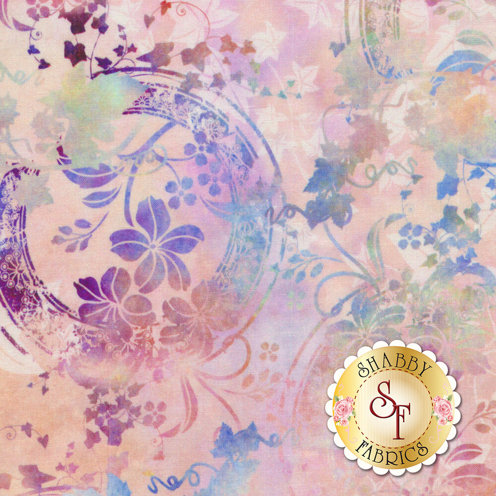 Garden of Dreams 4JYL-1 by In The Beginning Fabrics available at Shabby Fabrics