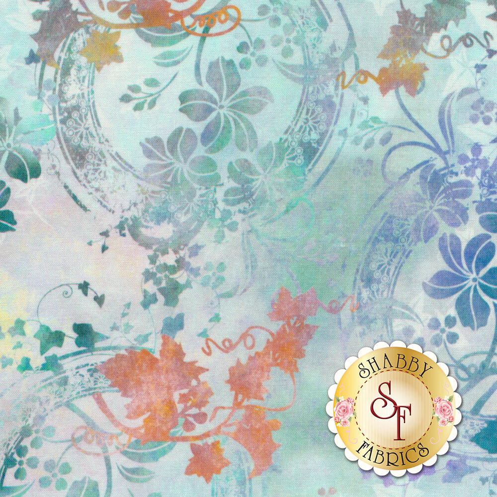 Garden of Dreams 4JYL-2 by In The Beginning Fabrics available at Shabby Fabrics