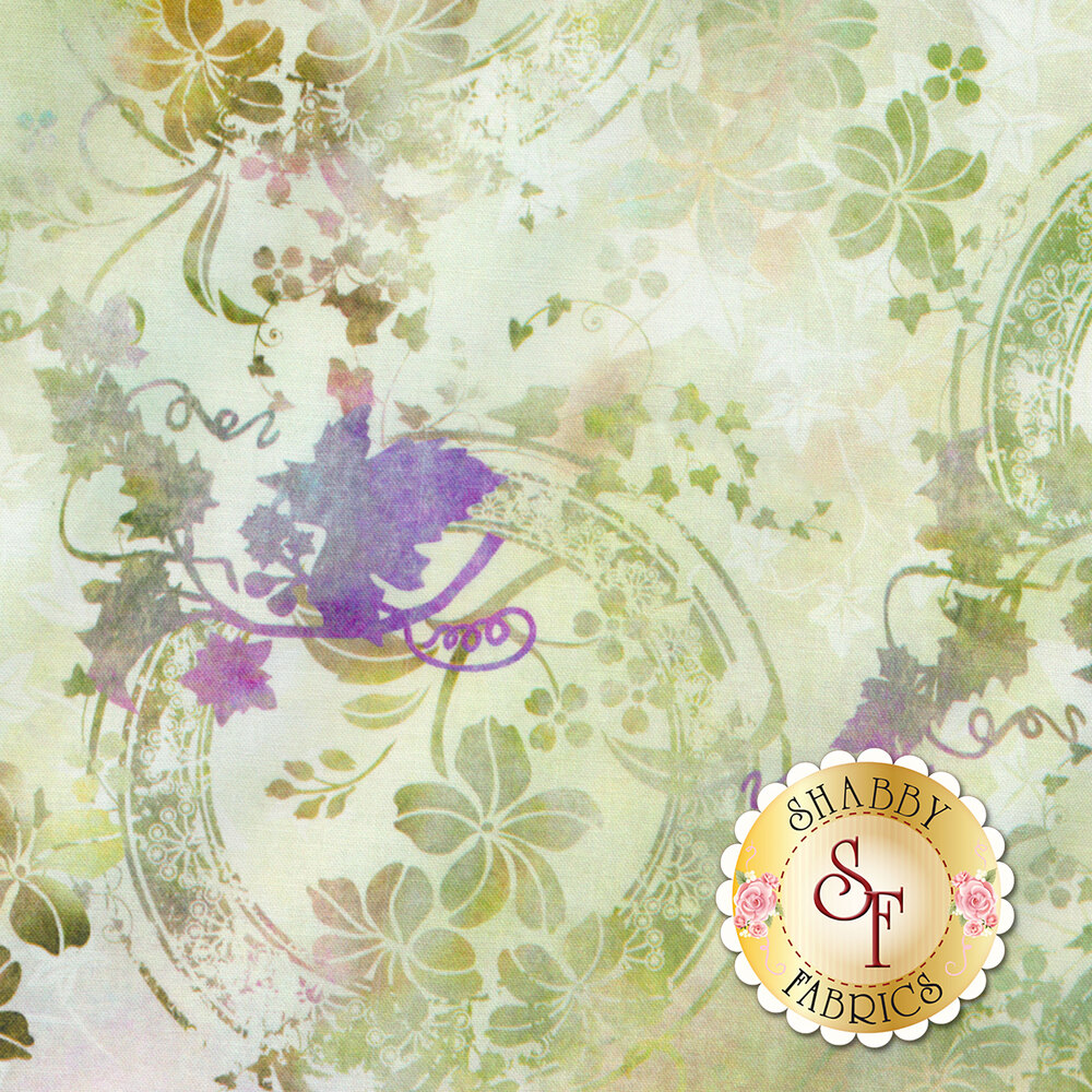 Garden of Dreams 4JYL-3 by In The Beginning Fabrics available at Shabby Fabrics