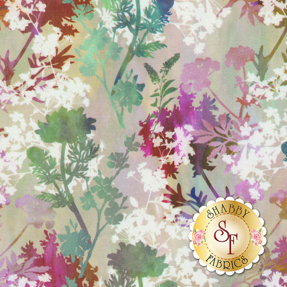 Garden of Dreams 5JYL-4 by In The Beginning Fabrics available at Shabby Fabrics
