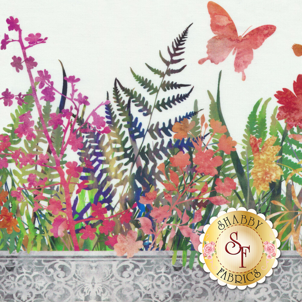 Garden of Dreams 8JYL-1 by In The Beginning Fabrics available at Shabby Fabrics