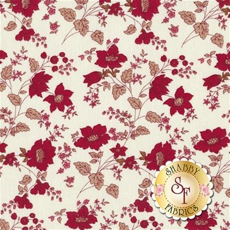 Garnet C5730-CREAM Main Cream by Nancy Zieman for Penny Rose Fabrics