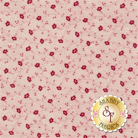 Garnet C5733-PINK Vine Pink by Nancy Zieman for Penny Rose Fabrics