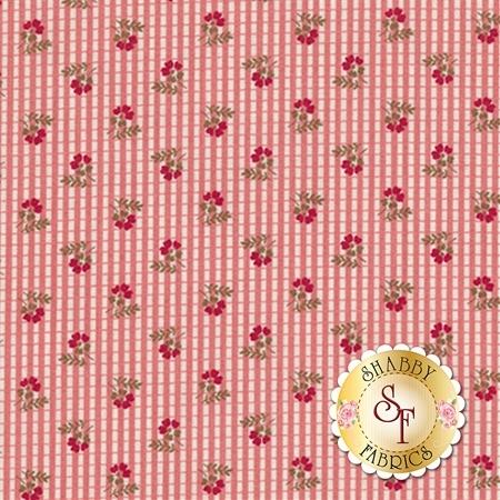 Garnet C5734-PINK Plaid Pink by Nancy Zieman for Penny Rose Fabrics
