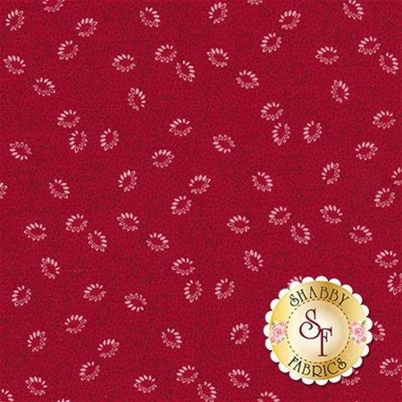 Garnet C5735-RED Petal Red by Nancy Zieman for Penny Rose Fabrics