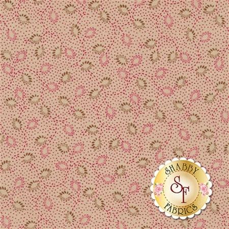 Garnet C5735-TAN Petal Tan by Nancy Zieman for Penny Rose Fabrics