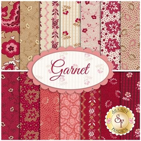 Garnet  14 FQ Set by Nancy Zieman for Penny Rose Fabrics