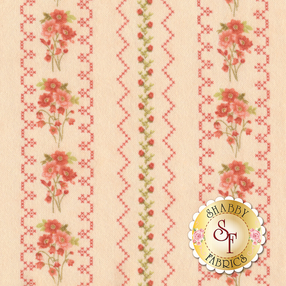 Gentle Garden Flannel F8285-35 for Henry Glass Fabrics