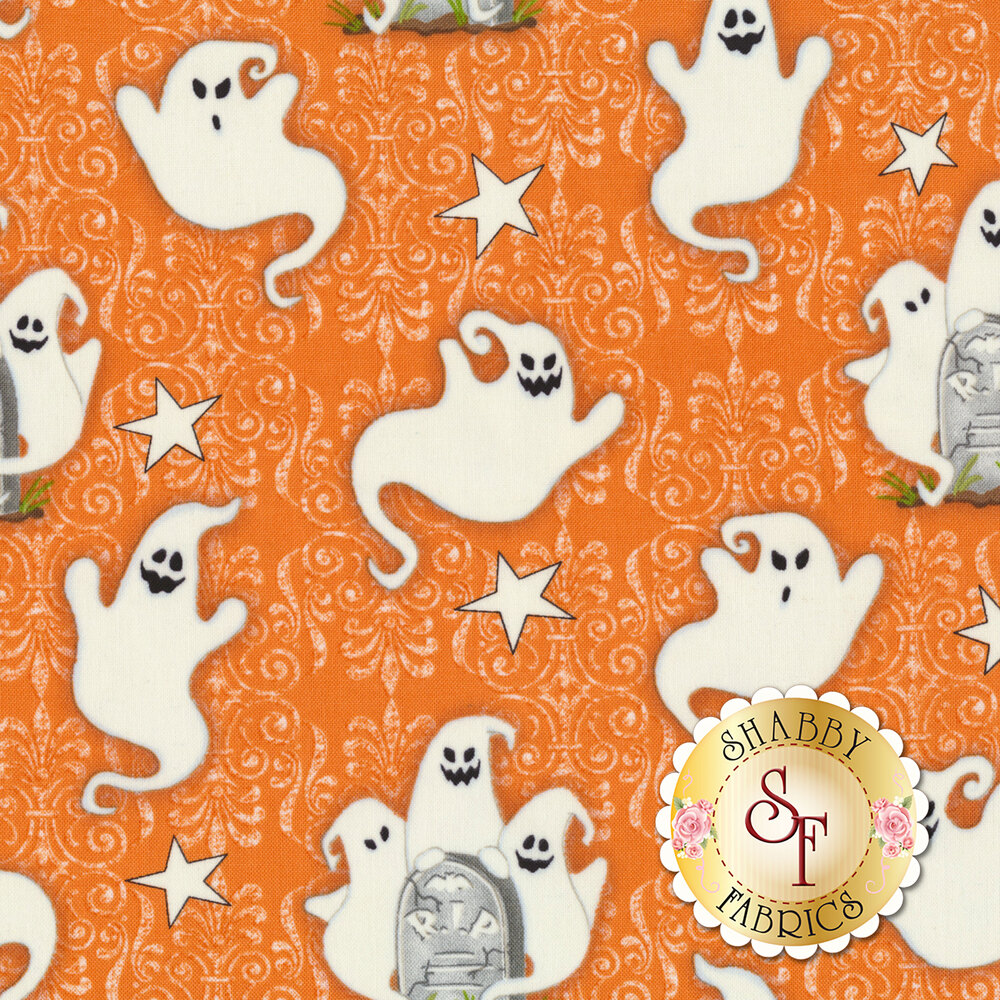 Ghostly Glow Town 1673G-33 by Henry Glass