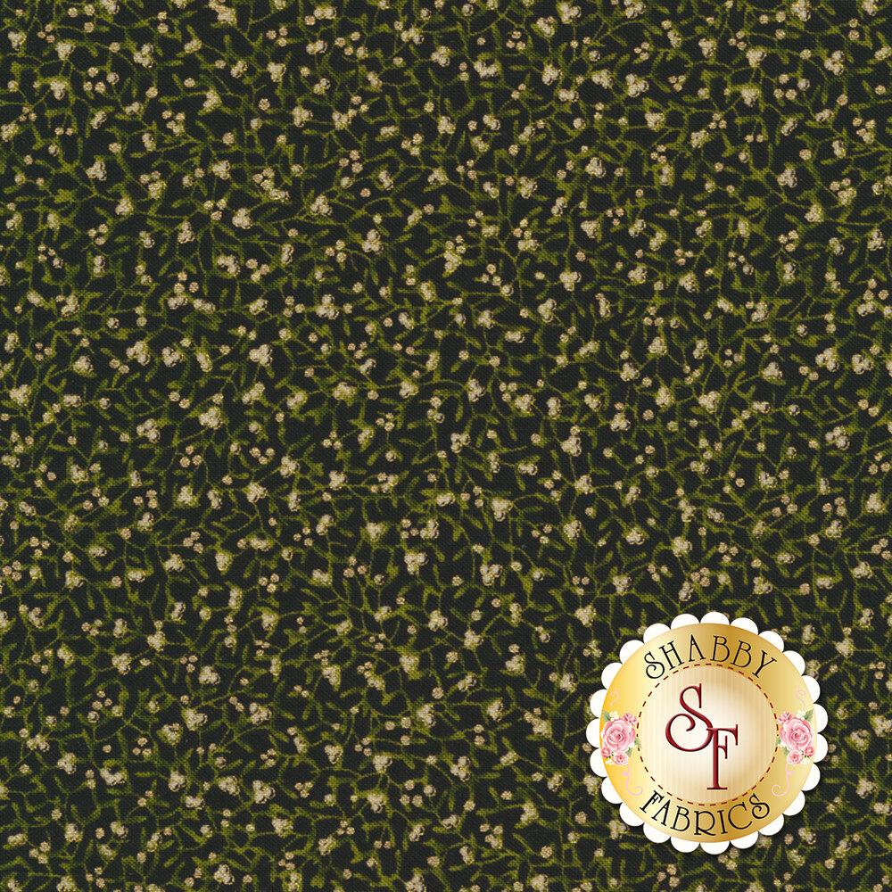 Gilded Greenery 33333-14M Ebony by Moda Fabrics
