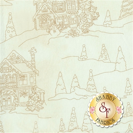 Gingerbread Christmas 8142-E by Meg Hawkey for Maywood Studio