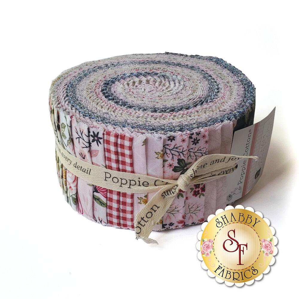 "Gingham Farmhouse  2-1/2"" Strips by Poppie Cotton | Shabby Fabrics"