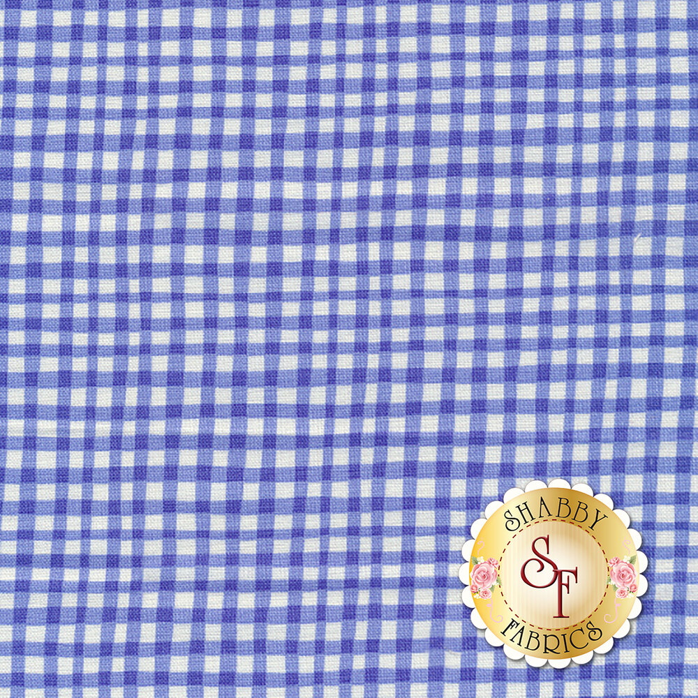 Gingham Play CX7161-COBA-D by Michael Miller Fabrics