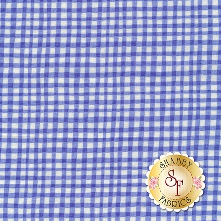 Gingham Play CX7161-COBA-D Cobalt by Michael Miller Fabrics