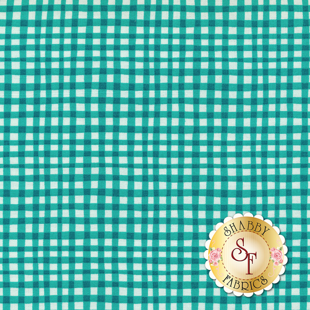 Gingham Play CX7161-MARI-D by Michael Miller Fabrics