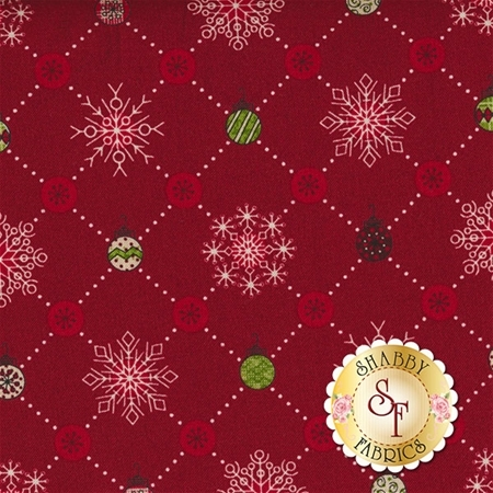 Glad Tidings 8765-88 by Leeanne Anderson for Henry Glass Fabrics