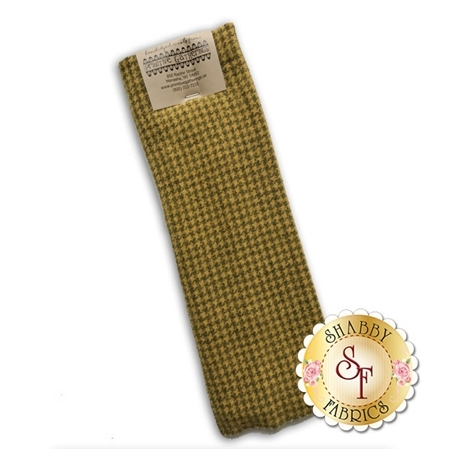 Hand Dyed Wool PRI 5022 Goldstar Houndstooth by Primitive Gatherings for Moda Fabrics