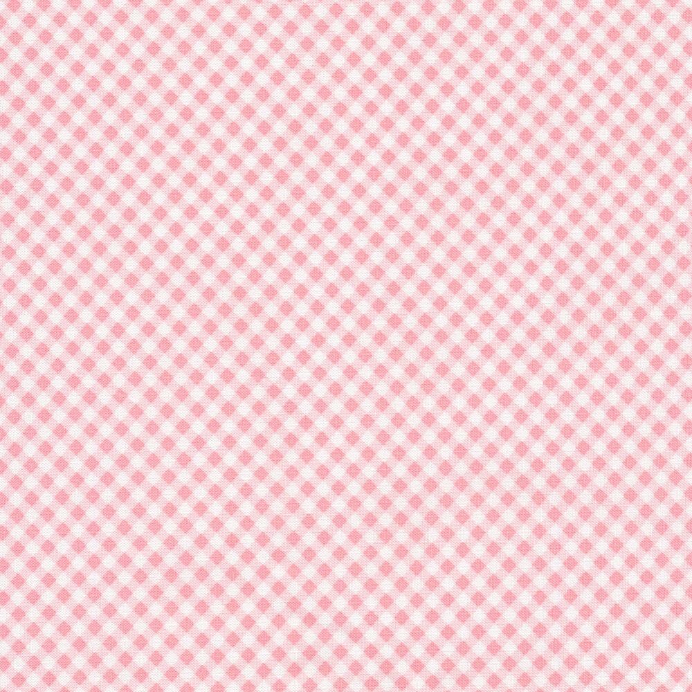 Light pink gingham
