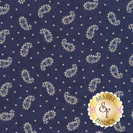 Grand Traverse Bay 14824-16 Navy by Minick And Simpson for Moda Fabrics