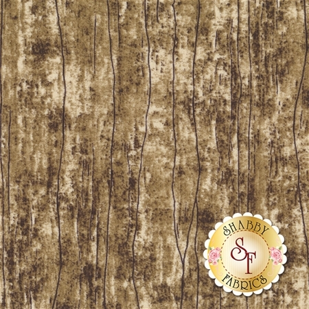 Greener Pastures 82495-291 Wood Texture Brown/Gray by Jennifer Pugh for Wilmington Prints