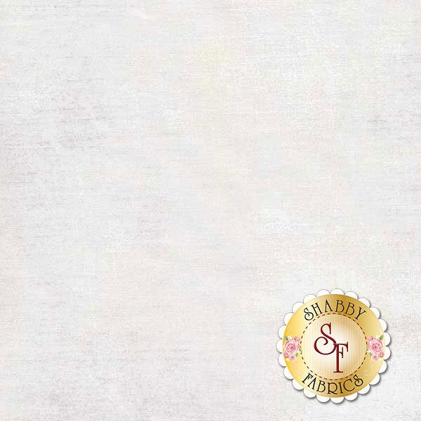 Mottled white grunge textured fabric   Shabby Fabrics