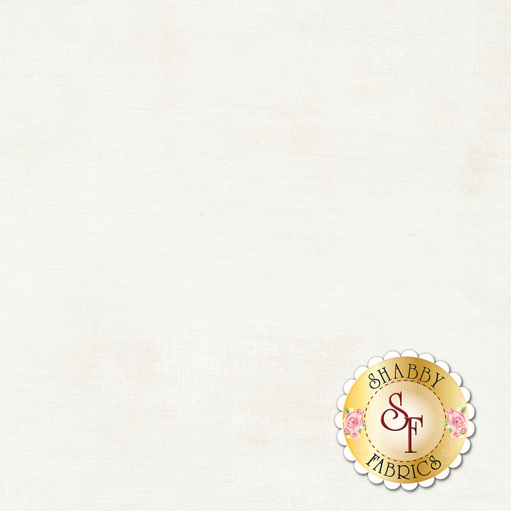 White grunge textured fabric | Shabby Fabrics