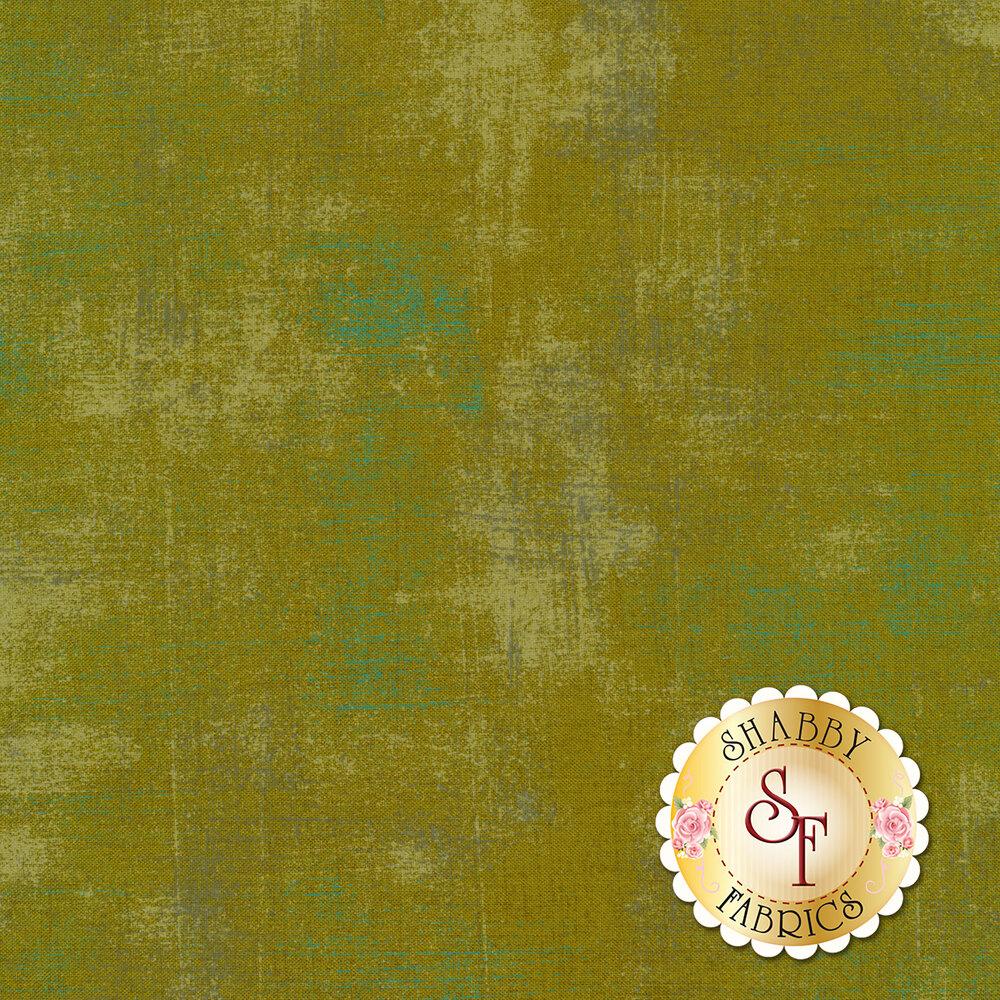 Green grunge textured fabric | Shabby Fabrics