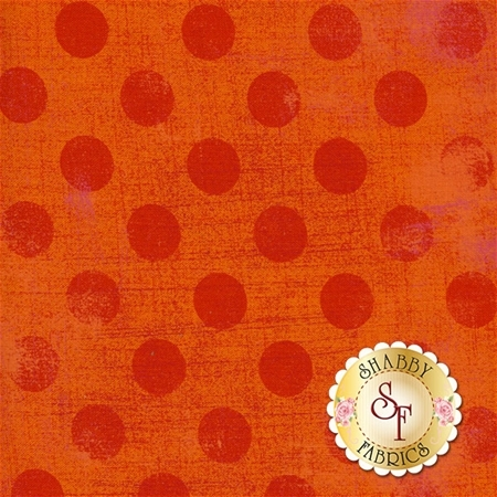 Grunge Hits The Spot 30149-19 Tangerine by BasicGrey for Moda Fabrics
