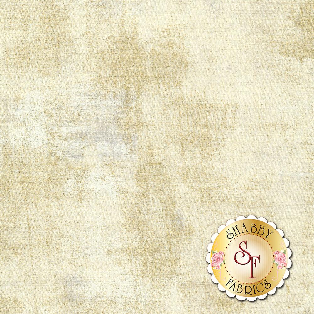 Cream textured fabric with metallic gold | Shabby Fabrics